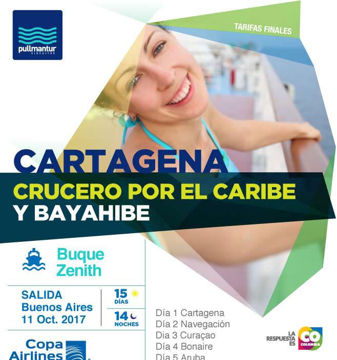 CRUCERO CARIBE Y CARTAGENA
