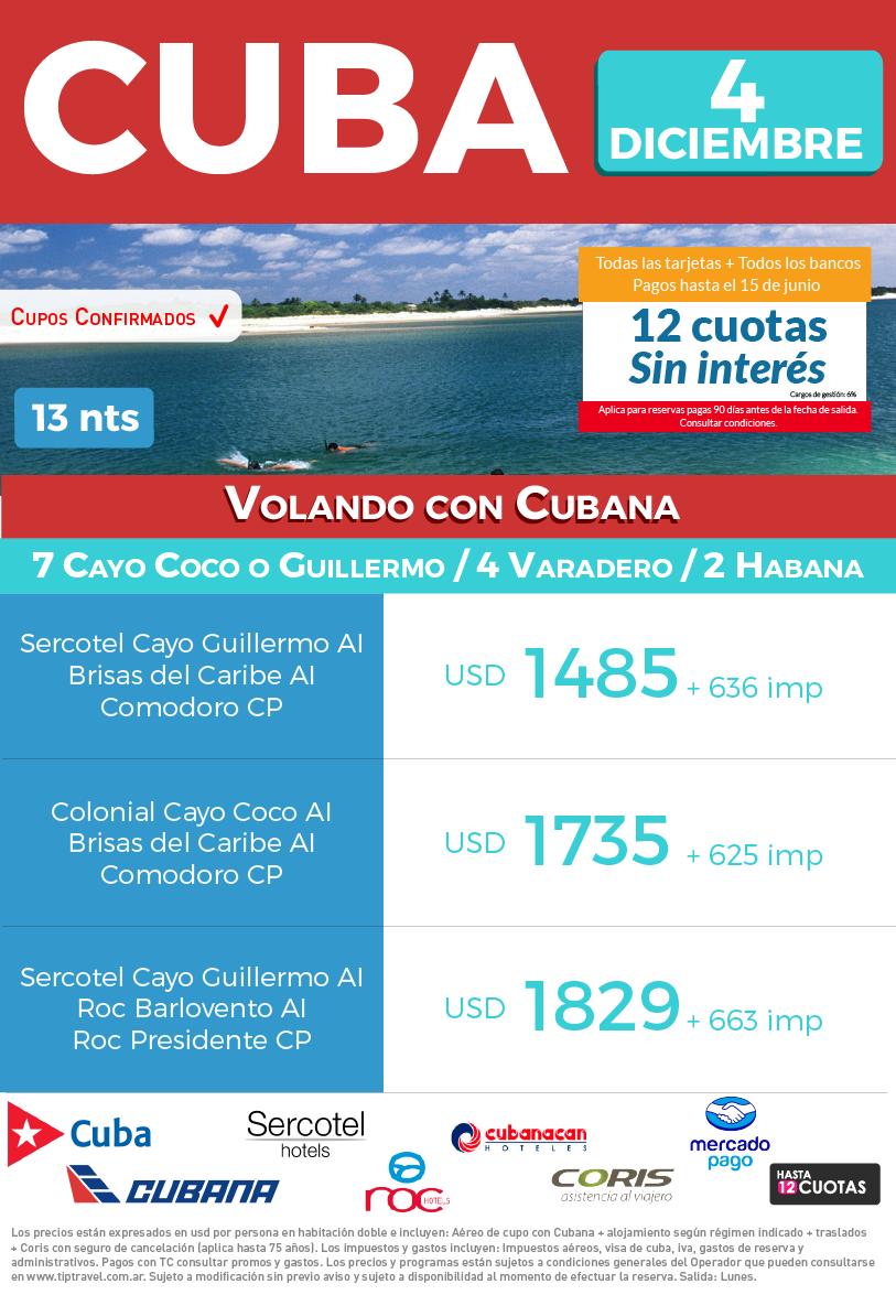 CUBA 4 DICIEMBRE