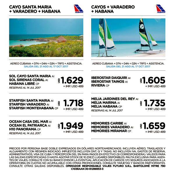 CUBA AGOSTO A OCTUBRE