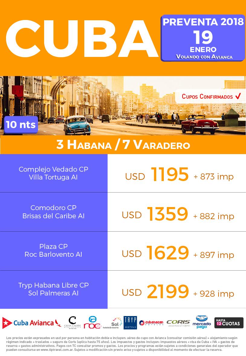 CUBA PREVENTA 2018