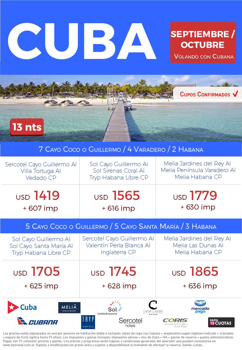 CUBA SEPTIEMBRE Y OCTUBRE
