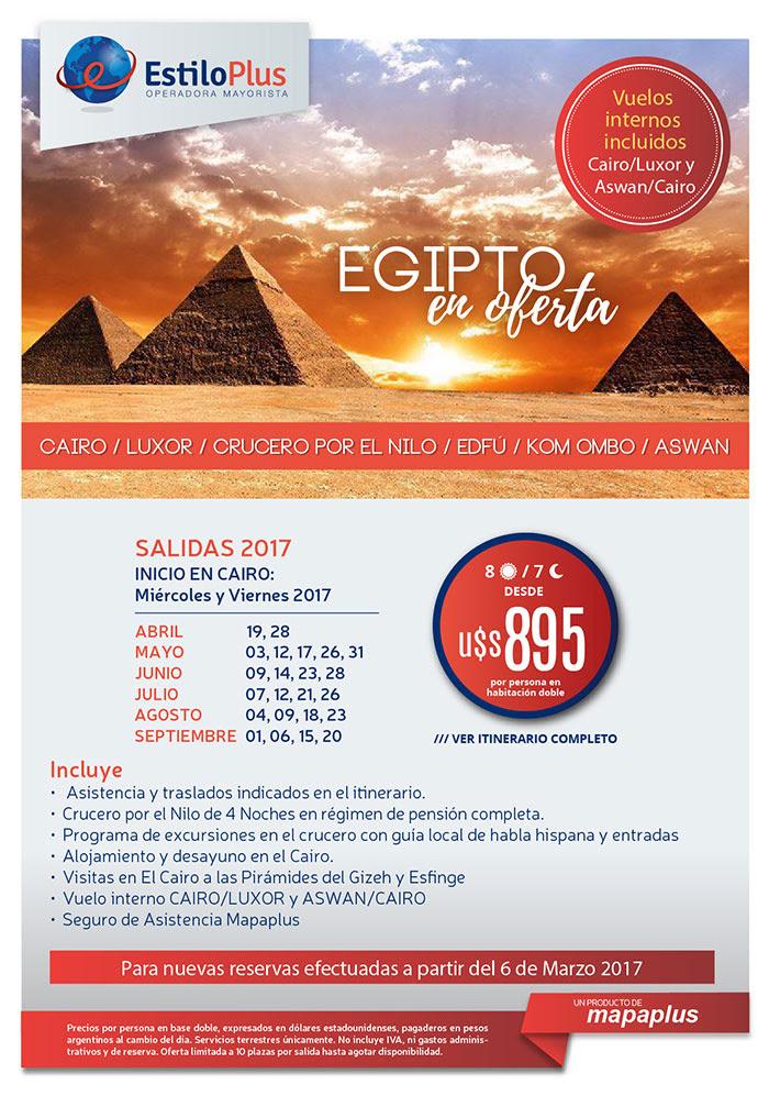 EGIPTO HASTA SEPTIEMBRE