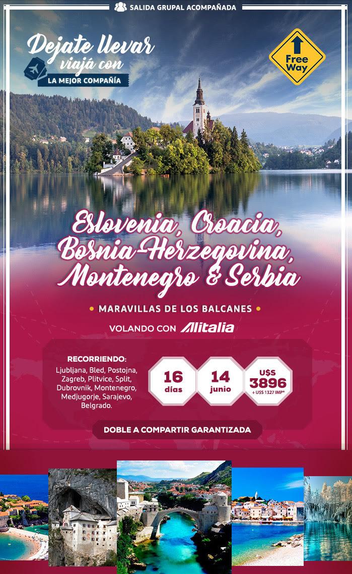 ESLOVENIA Y SERBIA