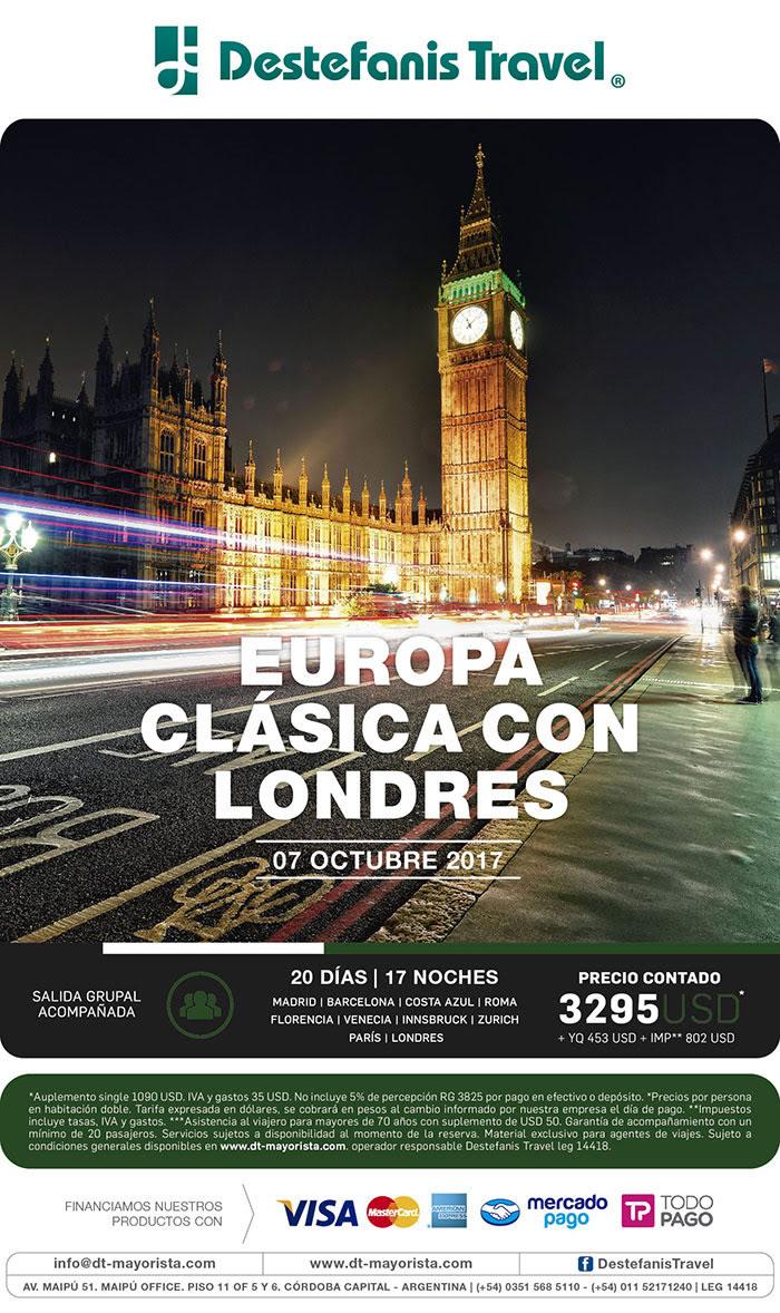 EUROPA CLASICA CON LONDRES 07 OCTUBRE