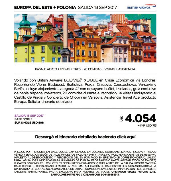 EUROPA DEL ESTE Y POLONIA 13 SEPT