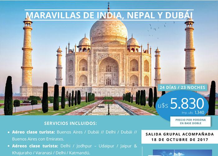 INDIA DUBAI Y NEPAL 18 OCTUBRE