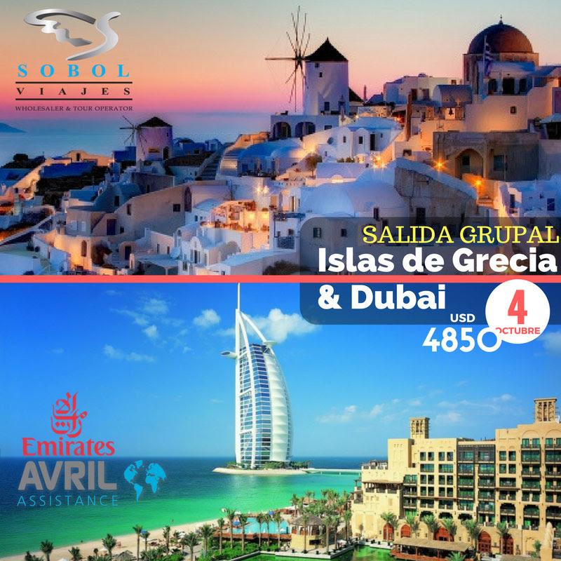 ISLAS DE GRECIA Y DIBAI 4 OCTUBRE