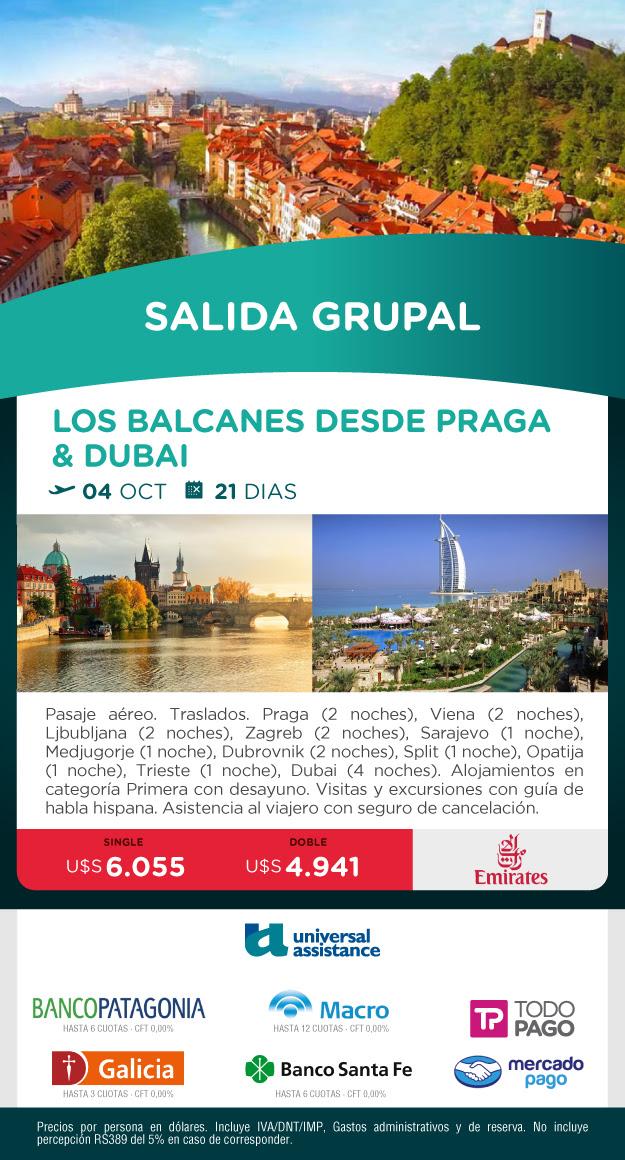 LOS BALCANES Y DUBAI 4 OCTUBRE