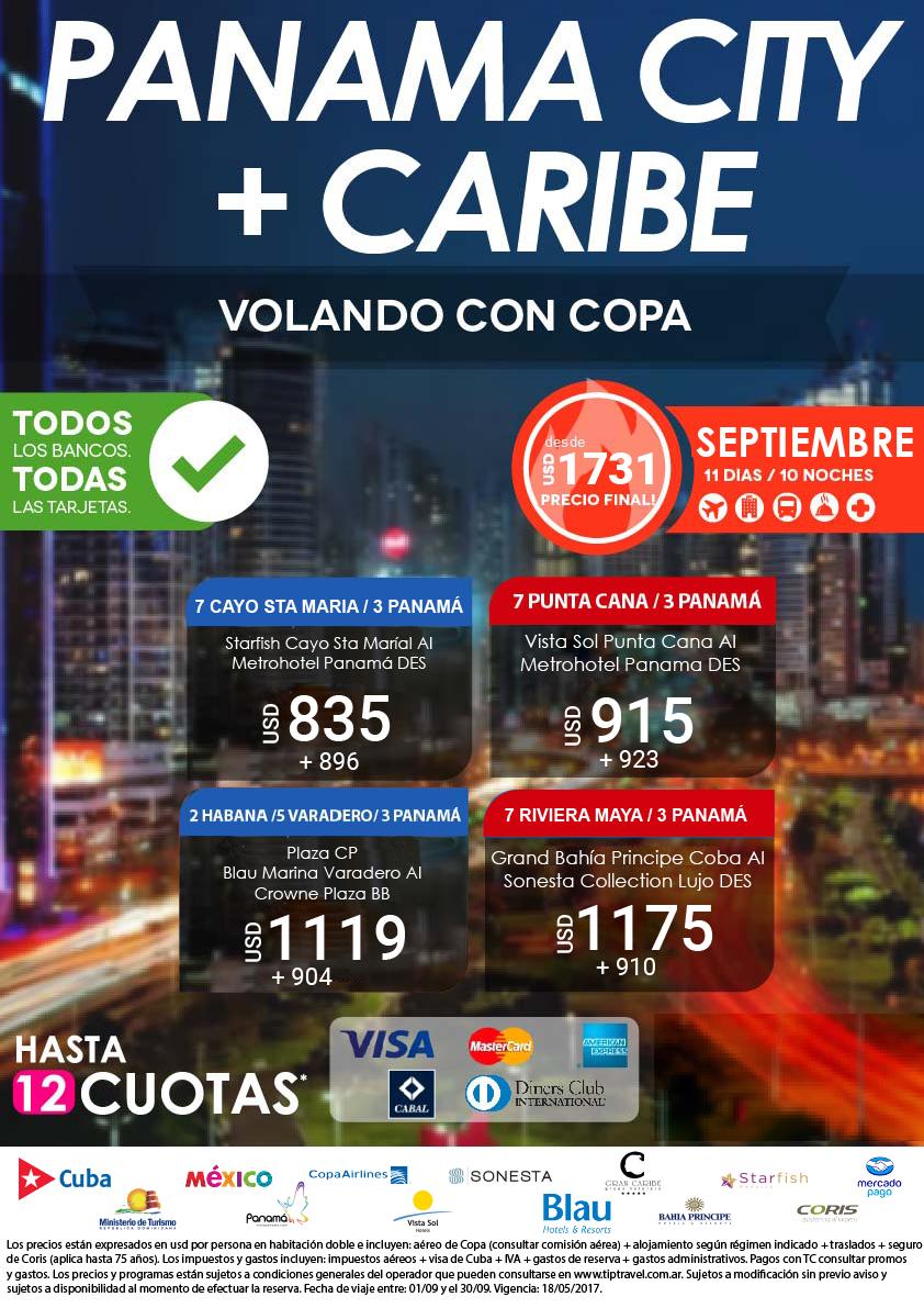 PANAMA + CARIBE SEPTIEMBRE