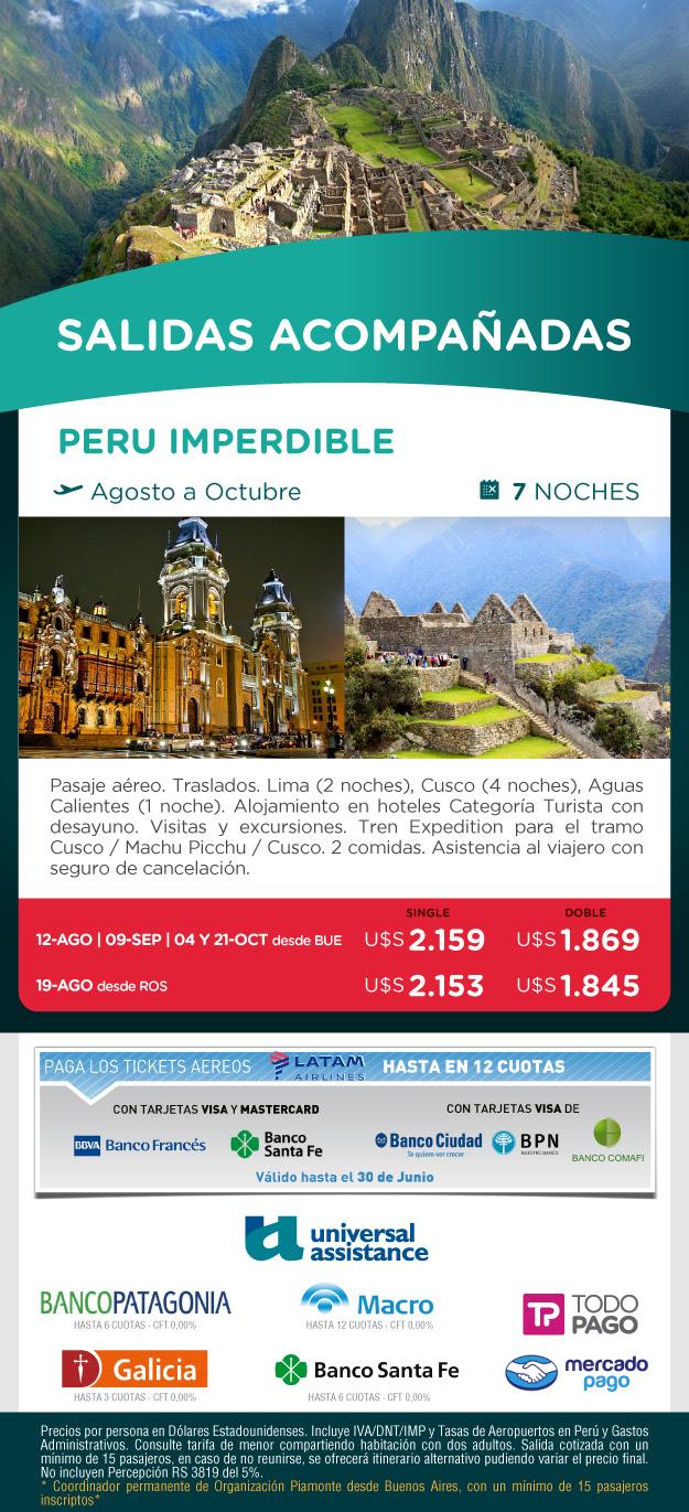 PERU AGOSTO A OCTUBRE