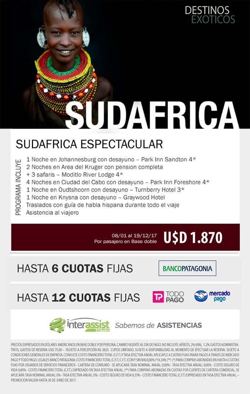 SUDAFRICA HASTA DICIEMBRE